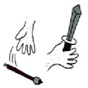 第85关-手和兵器、武器成语